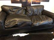 Couch 2 sitzer braun poltrona