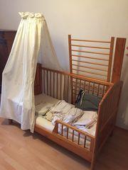 Kinderbett umbaubar 0-6