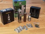 E-Zigarette Eleaf Aster 75W Akkuträger