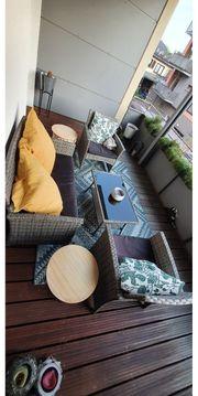 Balkonmöbel Lounge Set