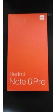 Smartphone xiaomi redmi Note 6