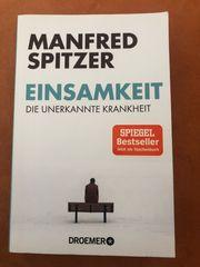 Buch - Einsamkeit die unbekannte Krankheit -