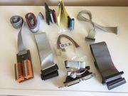 PC-Flachbandkabel und IDE Stromanschlusskabel mit