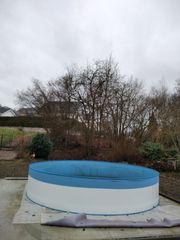 Stahlwand für Pool