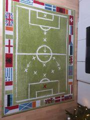 Teppich Fussball Kinderzimmer 160 200cm