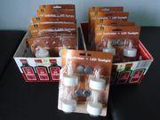 Teelichter mit Knopfzellen ca 40