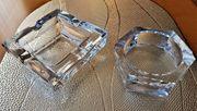 Kristall Glas Aschenbecher