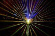 Feuerwerk war gestern Jetzt Lasershow
