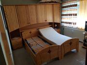 Bett mit Überbau und elektr