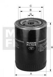 Mann Hummel Ölfilter W719 5