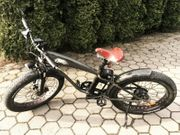 E-Bike ElektroBicycle Fatbike 500W10 4Ah48V