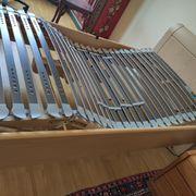 Komfort Einzelbett aus Sen-Holz elektrischer