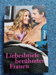 Buch Liebesbriefe berühmter Frauen