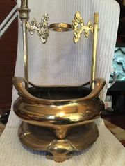 Chinese Bronze Tripod Censer Weihrauchbrenner
