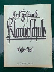 Klavierschule - Karl Zuschneid - Sammlerstück