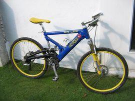 Mountain-Bikes, BMX-Räder, Rennräder - CENTURION-26-ZOLL-NO-POGO-EURO-FIGHTER-MOUNTENBIKE-XL-FULLY-NP 949 --FP 229 --