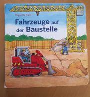 Buch Fahrzeuge auf der Baustelle