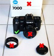 Minolta Maxxum 7000 AF SLR -
