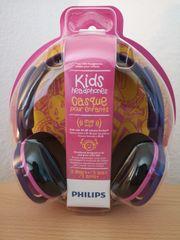 Philips Kopfhörer OVP in rosa