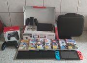 Nintendo Switch mit 9 Spiele
