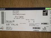 2 Tickets Eric Clapton Mannheim
