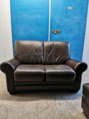 Leder Couch 2 Sitzer mit