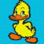 Vorlage für Ministeck Ente 40x40cm
