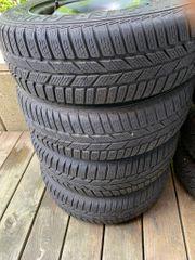 Reifen auf Stahlfelgen