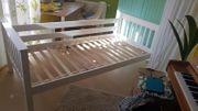 Bett weiß Vollholz Kinderbett