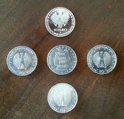 10EUR Silber Münzen Sterling