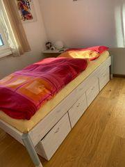 Jugendbett Einzelbett mit 4 Schubladen