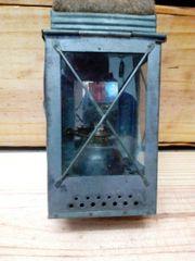 Petroleum Lampe Eisenbahn oldtimer