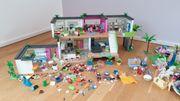 Große Playmobil-Sammlung Villa Krankenhaus Traumschiff
