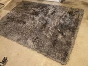 Teppich Hochflorteppich