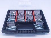 120 tlg Senkkopfschrauben Sortiment Schraubenbox