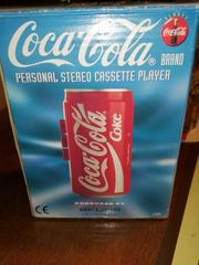 Coca-Cola Stereo Cassetten Player 45 -