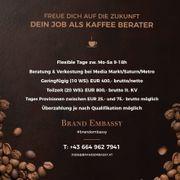 Exklusiver Job als Gourmet Kaffee