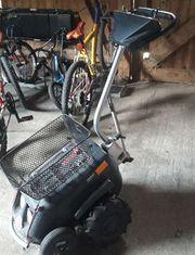 Minitrac mit Rollstuhl Akku Neu