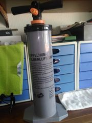 Doppelhub Kolbenluftpumpe für Luftmatratzen Camping