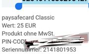 paysafekard Coupon 25euro