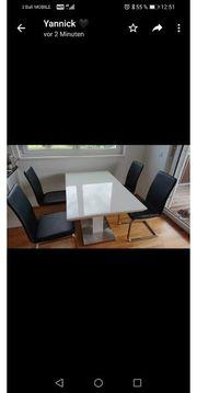 Tisch und 4 Stühle gebraucht