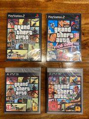 GTA Spiele sealed Games OVP