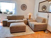 Sofa Sessel und Hocker zu