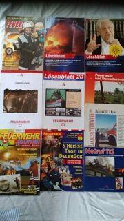10 Zeitschriften Feuerwehr