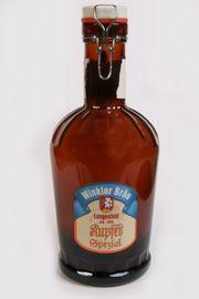 2 Liter Bügelflasche Siphon Bierflasche