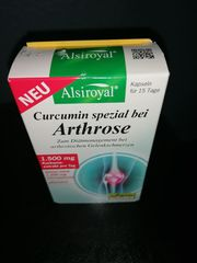 Alsiroyal Curcumin spezial bei Arthrose
