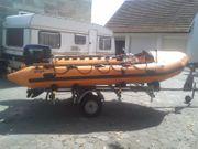 Schlauchboot GUGEL mit Motor EVINRUDE