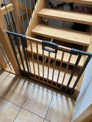 3 Geuther Treppenschutzgitter mit Verlängerung