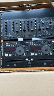 DJ Equipment Denon komplett mit