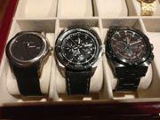 4 Uhren aus meiner Sammlung